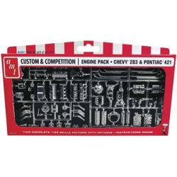GM Engine Parts Pack 1/25