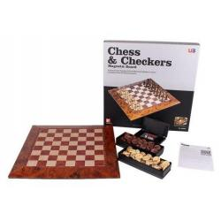 Chess & Checkers Magnetic Board