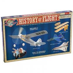 History of Flight Model Airplane Pack