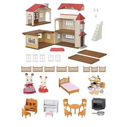 Calico Critters Red Roof Country Home Set