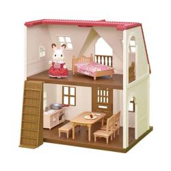 Calico Critters Red Roof Cottage Starter Set