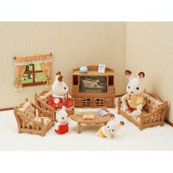 Calico Critter Comfy Living Room Set