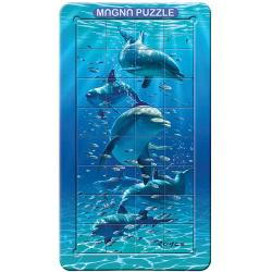 Dolphins Lenticular 3D Puzzle