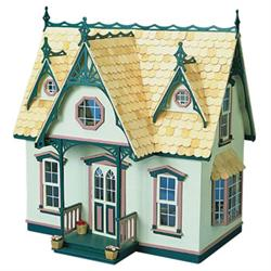 Orchid Wooden Dollhouse Kit