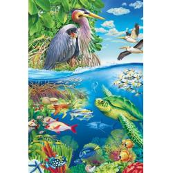 Air and Sea Floor Puzzle 48pc