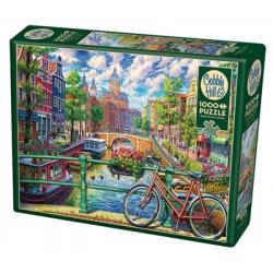Amsterdam Canal 1000pc