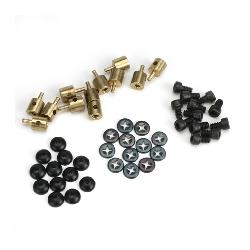 EZ Connectors Brass Bulk pack