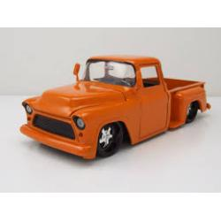 1955 Chevy Stepside Metallic Orange 1/24