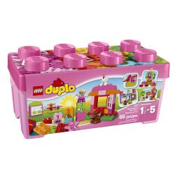 Lego Duplo All In One Pink Box of Fun