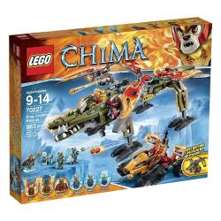 Lego Chima King Crominus Rescue