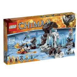Lego Chima Mammoths Frozen Stronghold