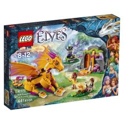 Lego Elves Fire Dragons Lava Cave
