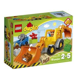 Lego Duplo Backhoe Loader