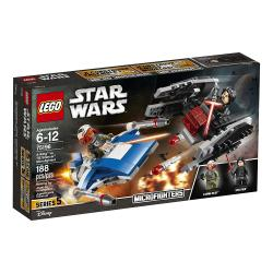 Lego Star Wars A-Wing vs Tie Silencers
