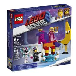 Lego Movie 2 Introducing Queen Watevra Wa'Nabi