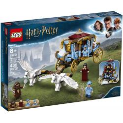 Lego HP Beauxbatons Carriage: Arrival at Hogwarts