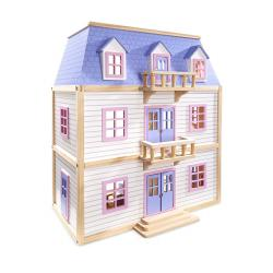 Multi Level Wooden Doll house