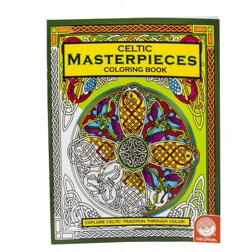 Celtic Masterpieces Coloring Book - Free CDN Shipping Available!