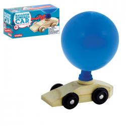 Balloon Powered Wooden Car