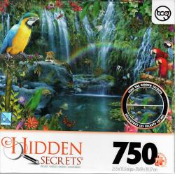 Hidden Secrets Parrot Tropics 750pc