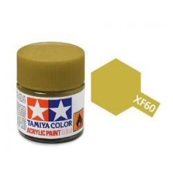 XF-60 Flat Dark Yellow Acrylic Mini