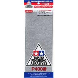 Finishing Abrasives 3pk 400 Grit