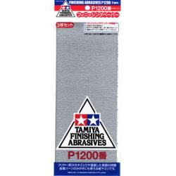 Finishing Abrasives 3pk 1200 Grit