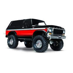 TRX4 1979 Ford Bronco Red RTR