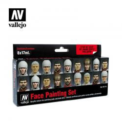 Face Painting Color Set 8x17ml