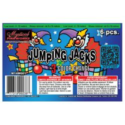 Jumping Jacks 6pcs