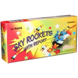 Sky Rocket with Report 12 pcs